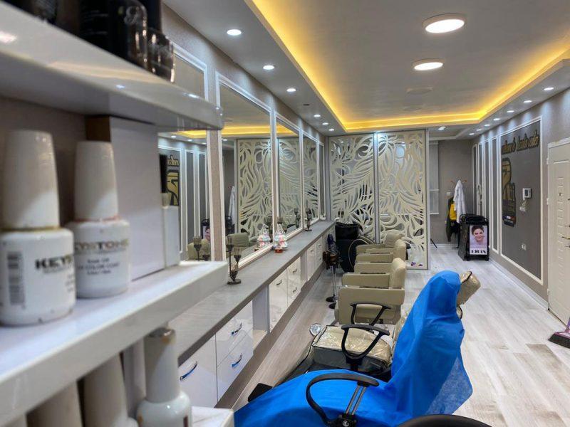 آرایشگاه زنانه و سالن زیبایی ده ونک دزفول